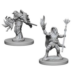 Dungeons And Dragons: Nolzur's Marvelous Unpainted Miniatures - Elf Male Wizard