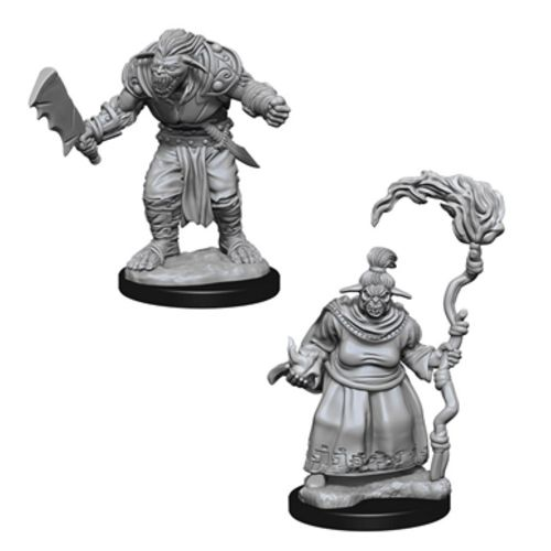 Pathfinder: Deep Cuts Unpainted Miniatures - Bugbears