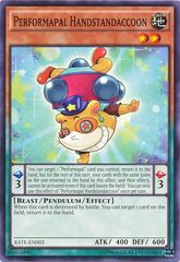Performapal Handstandaccoon - RATE-EN002 - Common - Unlimited Edition