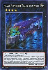 Heavy Armored Train Ironwolf - RATE-EN050 - Super Rare - Unlimited Edition