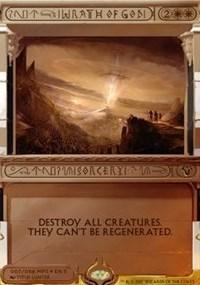 Wrath of God - Foil