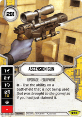 Ascension Gun (Sold with matching Die)