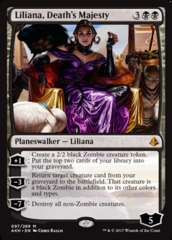 Liliana, Death's Majesty - Foil