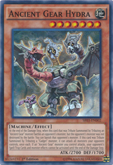 Ancient Gear Hydra - SR03-EN002 - Super Rare - 1st Edition on Channel Fireball