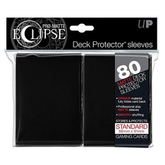 Ultra Pro - Eclipse Black Matte Sleeves 80Ct