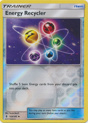 Energy Recycler  - 123/145  - Uncommon - Reverse Holo