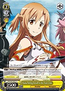 SAO/S47-E017 C Asuna Putting Herself in the Front Lines