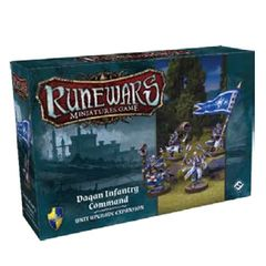 Runewars Miniatures Game: Daqan Infantry Command Expansion Pack