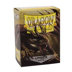 Dragon Shield Matte Sleeves: Umber (100)