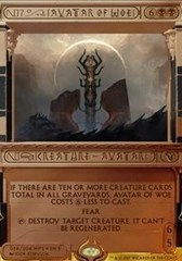 Avatar of Woe (Masterpiece Foil) on Channel Fireball