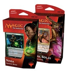 Hour of Devastation - Planeswalker Deck - Set of Two - Nicol Bolas & Nissa