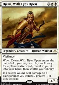 Djeru, With Eyes Open - Foil