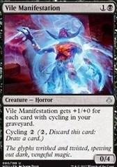 Vile Manifestation - Foil
