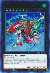 Gaia Dragon, the Thunder Charger - BLLR-EN065 - Ultra Rare - 1st Edition