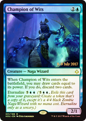 Champion of Wits - Foil - Prerelease Promo