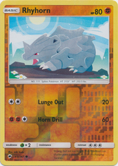 Rhyhorn - 65/147 - Common - Reverse Holo