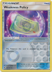 Weakness Policy - 126/147 - Uncommon - Reverse Holo