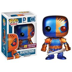 Pop! Heroes 49: Dc Comics - Deathstroke - Metallic Version