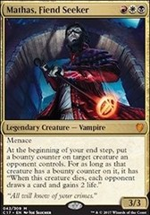 Mathas, Fiend Seeker