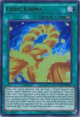 Cubic Karma - MVP1-ENG41 - Gold Rare - Unlimited Edition