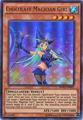 Chocolate Magician Girl - MVP1-ENG52 - Gold Rare - Unlimited Edition
