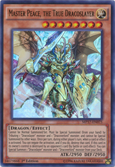 Master Peace, the True Dracoslayer - MP17-EN075 - Ultra Rare - 1st Edition