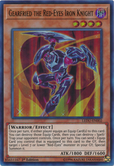 Gearfried the Red-Eyes Iron Knight - LEDU-EN002 - Ultra Rare - 1st Edition