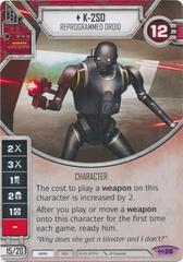 K-2SO - Reprogrammed Droid