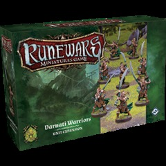 Runewars Miniatures Game: Darnati Warriors Unit Expansion