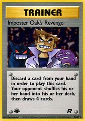 Imposter Oak's Revenge - 76/82 - Uncommon - 1st Edition
