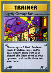 Nightly Garbage Run - 77/82 - Uncommon - 1st Edition
