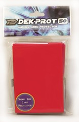 Dek Prot 50ct. Yugioh Sized Sleeves - Pepper Red