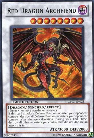 Red Dragon Archfiend - CT07-EN025 - Super Rare - Limited Edition