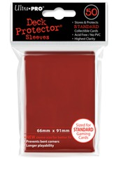 Ultra Pro Standard Size Red Sleeves - 50ct