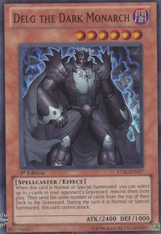 Delg the Dark Monarch - STBL-EN037 - Super Rare - 1st Edition