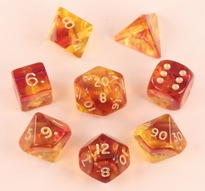 Firefly Purple Polyhedral Dice Set (7)