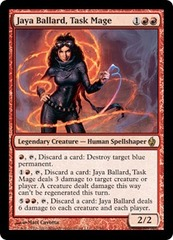 Jaya Ballard, Task Mage - Foil on Channel Fireball