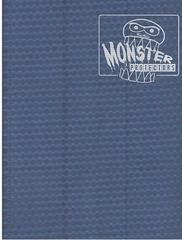 Monster Protectors 9 Pocket Midnight Blue Binder
