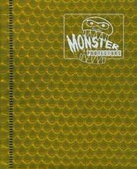 Monster Protectors 4-Pocket Binder - Holo Gold