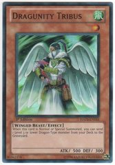 Dragunity Tribus - HA03-EN033 - Super Rare - 1st Edition on Channel Fireball