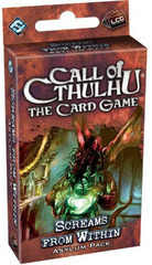 Call of Cthulhu: The Card Game - Screams from Within Asylum Pack