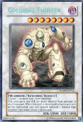Colossal Fighter - Blue - DL09-EN012 - Rare - Promo Edition