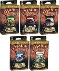 All 5 New Phyrexia Intro Packs