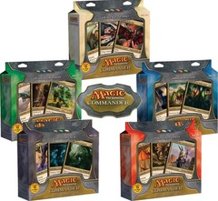 Commander - Complete set of 5