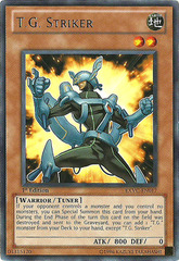 T.G. Striker - EXVC-EN017 - Rare - 1st Edition