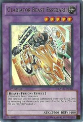 Gladiator Beast Essedarii - EXVC-EN086 - Ultra Rare - 1st Edition