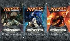 3x Magic 2012 Booster Packs (draft set)