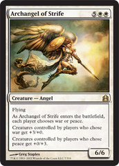 Archangel of Strife on Channel Fireball
