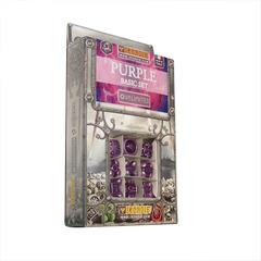IronDie 9-Dice Starter Pack - Purple