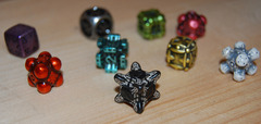 IronDie Sample Pack - 9 Dice including 1 Rare